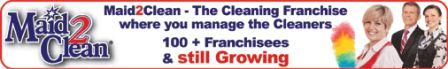Maid 2 Clean Franchise - Cleaning Recruitment Agency Franchise