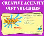 The Creation Station has launched the very first voucher scheme for creative play.