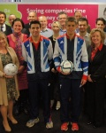 BCR Associates - Paralympian Blind Footballers inspire local business leaders