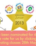Tatty Bumpkin Have Been Nominated In National Childrens's Awards Scheme