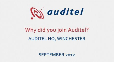 Auditel Franchise Video - Find out more about fantastic franchisee support network from the Auditel franchise