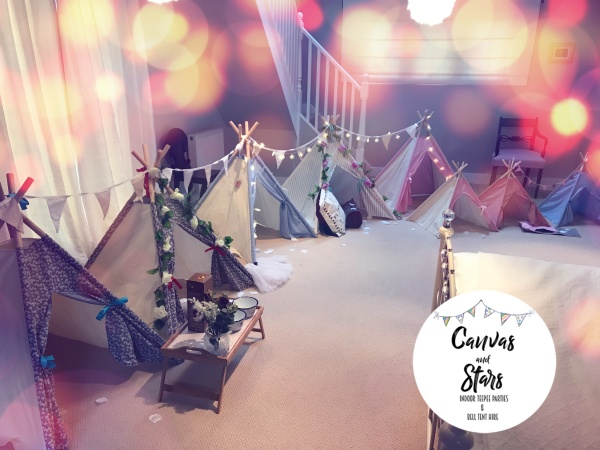 Canvas & Stars Indoor Glamping Business
