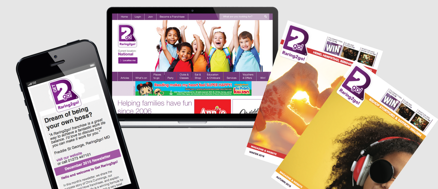 Raring2go! Business | Website and Magazine Publishing Franchise