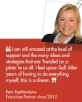 Pam Featherstone Joined ActionCOACH in 2012