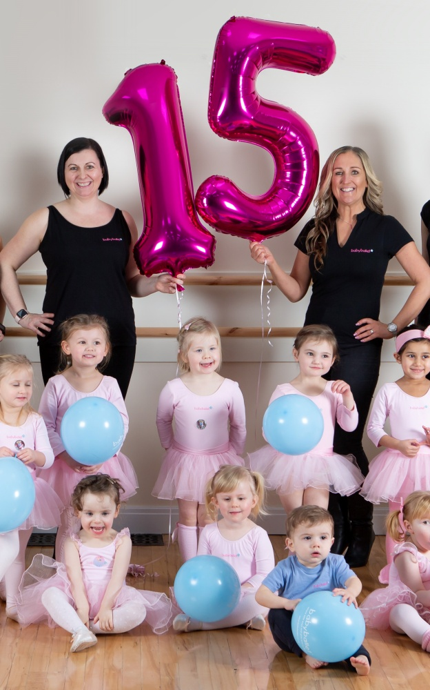From Halifax to New Zealand -  babyballet® celebrates 15th birthday